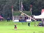 Braemar Highland Games mit Queen im Hintergrund